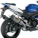 Akrapovic Racing Line Full Exhaust for GSX-R1000 07-08 (Closeout)