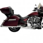 Bassani Road Rage Full Exhaust for Crosscountry 10-15