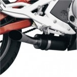 Jardine GP1 Aluminum Slip-On Muffler with Black-Coated Muffler Sleeve for EX650 Ninja 06-11