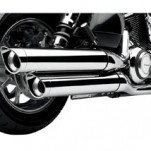 Cobra Slip-On Muffler (Slash-cut) for VN1700 Classic 09-12