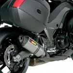 Akrapovic Dual Slip-On Exhausts for Z1000SX 10-13 (Closeout)