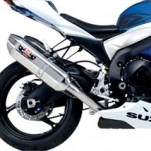 Yoshimura Dual R-77 Slip-On Exhausts for GSX-R1000 09 (Closeout)