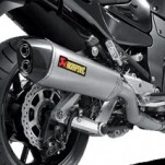 Akrapovic Dual Slip-On Exhausts for Concours 14 08-15