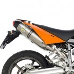 Leo Vince LV One Slip-On Exhaust for Supermoto 05-07