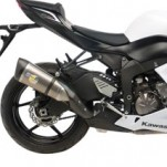 Leo Vince Factory R Evo II Slip On Exhaust for ZX6R 13-15
