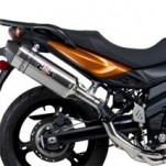Yoshimura R-77 3/4 Slip-On Exhaust for DL650 V-Strom 07-15