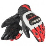 Dainese Guanto 4 Stroke EVO Gloves White/Red/Black