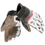 Dainese X-Strike Gloves White/Red-Lava/Black