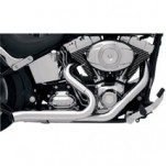Bassani Repl. Chrome Heat Shields for Bassani Pro-Street Exhaust System for Softail 86-13 (Closeout)