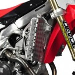 Devol Radiator Guard for CRF450R 13-14