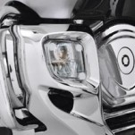Show Chrome Lampgard Rectangular for GL1800 Gold Wing 12-16