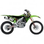 N-Style Race Team Graphic Kit for KLX110 02-09