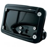 Kuryakyn Side-Mount License Plate Holder (Horizontal Mount)