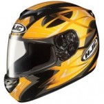 HJC CS-R2 Storm MC-3 Helmet Yellow/Black/Silver (Closeout)
