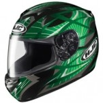 HJC CS-R2 Storm MC-4 Helmet Green/Black/Silver