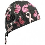 Zan Headgear Flydanna Headwrap Ribbon-and-Butterflies