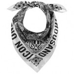 Icon 1000 Chantilly Scarf White/Black