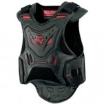 Icon Men's Stryker Vest Black/Red