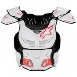 Alpinestars A8 Protection Vest White/Red