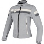 Dainese Vintage Lady Tex Jacket High-Rise/Ice/Ice