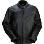 Z1R Men's Leather 357 Jacket Black