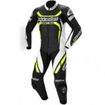 Alpinestars Motegi One-Piece Leather Suit Black/White/Yellow