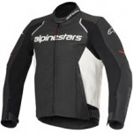 Alpinestars Devon Airflow Leather Jacket Black/White