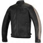 Alpinestars Charlie Leather Jacket Black