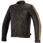 Alpinestars Charlie Leather Jacket Brown