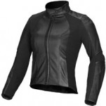 Alpinestars Women's Vika Leather Jacket Black