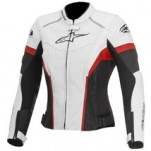 Alpinestars Women's Stella GP Plus R Perf. Jacket White/Black/Red