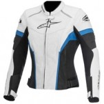 Alpinestars Women's Stella GP Plus R Perf. Jacket White/Black/Blue