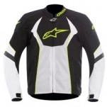 Alpinestars T-GP-R Air Jacket Black/White/Yellow-Fluo