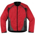 Icon Men's Anthem Mesh Jacket Red