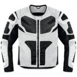 Icon Men's Overlord Resistance Jacket White