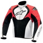 Alpinestars T-Jaws Waterproof Jacket Black/White/Red
