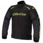 Alpinestars Men's Gunner Waterproof Jacket Cool-Gray/Black/Yellow-Fluo (Closeout)
