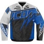 Icon Men's Hooligan Spaztyk Street Jersey Blue