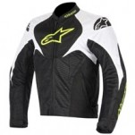 Alpinestars T-Jaws Air Jacket Black/White/Yellow-Fluo