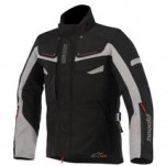 Alpinestars Bogota Drystar Jacket Black/Dark-Gray (Closeout)