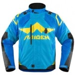 Icon Men's Raiden DKR Jacket Blue (Closeout)