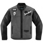 Icon 1000 Vigilante Stickup Jacket Black/Gray