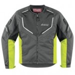Icon Men's Citadel Mesh Jacket Hi-Viz-Yellow