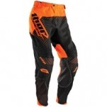 Thor Core Hux Pants Black/Flo-Orange (Closeout)