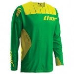 Thor Core Contro Jersey Kelly-Green/Yellow (Closeout)