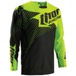 Thor Core Hux Jersey Black/Flo-Green