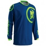 Thor Phase Gasket Jersey Navy/Lime (Closeout)