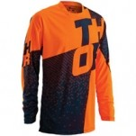 Thor Prime Tach Jersey Navy/Flo-Orange (Closeout)