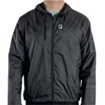 Thor Men's Gusto Windbreaker Black