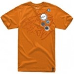 Alpinestars Badges Short-Sleeve T-Shirt Orange (Closeout)